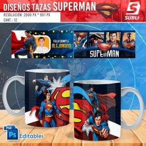 plantillas para sublimar tazas de superman