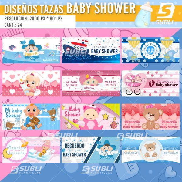 diseños para tazas de nacimientos