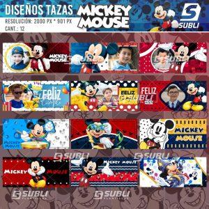 diseños para tazas mickey mouse