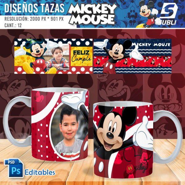 plantillas para sublimar tazas de guardianes de mickey mouse