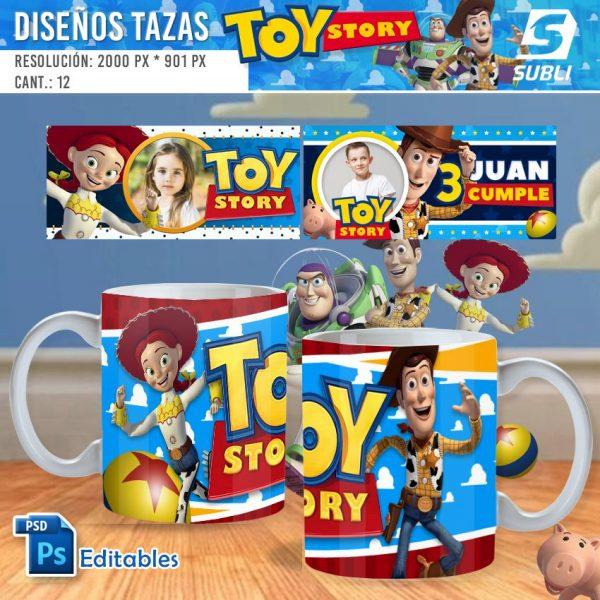 plantillas para sublimar tazas de toy story