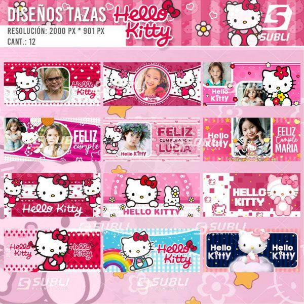 diseños para tazas de hello kitty