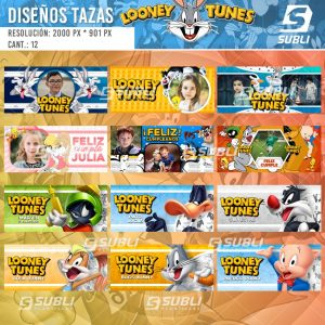 diseños para tazas de looney tunes