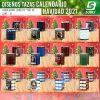 diseños para tazas calendario navidad 2021