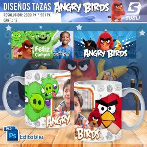 plantillas para sublimar tazas de angry birds