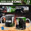 plantillas para sublimar tazas de king kong